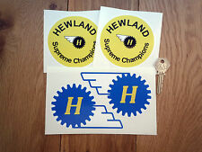 HEWLAND GEARBOX Racing Car STICKERS F1 Sponsors Race Bike Motorbike Formula One