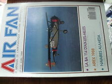 µ? Revue Air Fan n°113 BA 114 d'Aix les Milles F-111