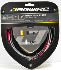 Jagwire Mountain Elite Link Teflon Coated Brake Cable Kit RED Sram/Shimano MTB