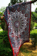 Urban Outfitters Tapestry Wall Hanging Star Mandala Twin Indian Hippie Throw_1