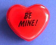 BUY1&GET1@50%~Hallmark PIN Valentines LIGHT UP HEART Be Mine Blinks Vtg Holiday