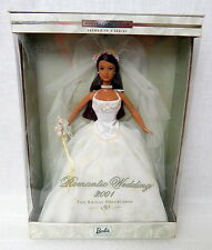 Barbie Collector Edition Romantic Wedding 2001 Doll African American Bridal Coll