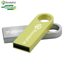 USB 2.0 Data Metal Key Ring Traveler Flash Memory Pen Data Drive 32GB~HOT