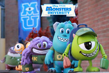 HOT TOYS DISNEY PIXAR MONSTERS UNIVERSITY COSBABY COLLECTIBLE FIGURE SET 6 ~NEW~