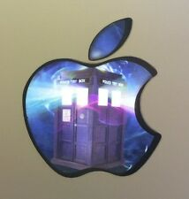 GLOWING DOCTOR WHO TARDIS Apple MacBook Pro Air Sticker Laptop DECAL 11-17in