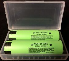 "Brand New ""2"" Panasonic NCR18650BE 3.7V 3200mAh 18650 Rechargeable Battery Japan"