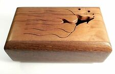 5 Note Slit Tongue Wood Drum Dolphin Design