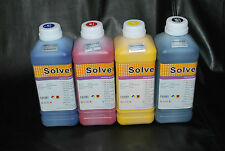 Eco Solvent ink for Roland, Mimaki, Mutoh 4 Liters (CMYK) US Seller