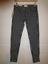 Ralph Lauren Denim & Supply Polo skinny jeans pants black pinstripes 27 MSRP $98