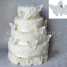 2pcs Butterfly Cake Fondant Decorating Cutter Mold Sugarcraft Cookies Mould