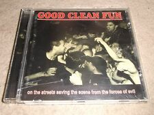 CD Good Clean Fun - On The Streets Saving The Scene From The Forces Of Evil 2000