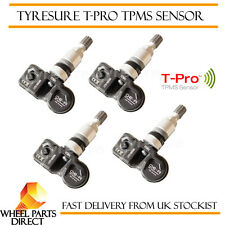 TPMS Sensors (4) OE Replacement Tyre Pressure Valve for Peugeot 208 2012-2018