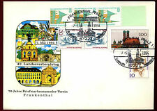 West Germany 1994, 70 Years Philatelist Club Frankenthal Cover #C36553