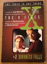 THE X FILES DARKNESS FALLS Les Martin Book (Paperback)