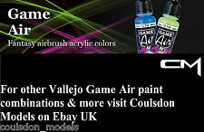 Vallejo Game Air Acrylic Fantasy Airbrush Paints Pick Any 5 x 17ml Bottles