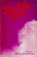 Buddy Boy by Brian Thompson Author's First Novel Signed/Inscribed Author HCDJ