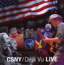 "Stills Nash & Young Crosby ""Deja vu LIVE"" CD NUOVO"