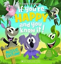 IF YOU'RE HAPPY AND YOU KNOW IT + CD  Aussie Ed Children's Picture Story Book