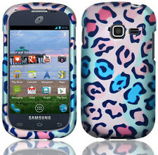 For Samsung Galaxy Centura S738C Rubberized HARD Case Phone Cover Cute Animal