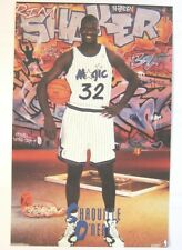 """Shaquille O'neal """"Rim Shaker"""" Costacos Mini Poster 4"""" x 6"""""""