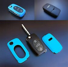 Early Audi Remote Flip Key Cover Case Skin Shell Cap Fob Protection S Line Blue-