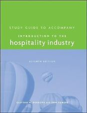 Introduction to the Hospitality Industry, Study Guide-ExLibrary