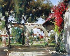 """Cyrus Afsary, """"Mission Arches"""", open ed poster, 22""""h x 28""""w image"""