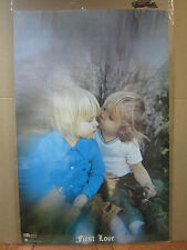 First love 1971 original Vintage Poster 5204