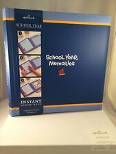 Hallmark School Year Instant Memory Book Blue Boys New With One Little Defect
