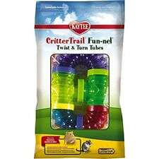 Kaytee CritterTrail Fun Twist and Turn Value Pack, Colors Vary , New, Free Shipp