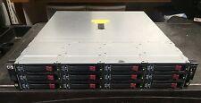 HP StorageWorks D2600 36TB (12x 3TB) Hard Drive 12 Bay LFF Disk Enclosure AJ940A