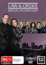 Law And Order - Special Vicitms Unit - SVU - Season 12 - DVD - New & Sealed