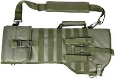NEW! Deluxe MOLLE Shoulder Sling Tactical 556 Rifle Scabbard Case Green NCStar
