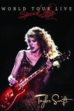 TAYLOR SWIFT SPEAK NOW WORLD TOUR LIVE DVD ALL REGIONS NTSC NEW