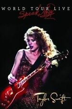 TAYLOR SWIFT World Tour Live Speak Now DVD BRAND NEW NTSC Region 0