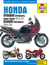 HAYNES 3744 MOTORCYCLE REPAIR OWNER MANUAL HONDA XL1000V VARADERO 1999 - 2008