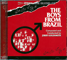 """Jerry Goldsmith """"THE BOYS FROM BRAZIL"""" score Intrada Ltd 2CD sold out SEALED"""