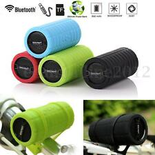 Bluetooth Wireless Bike Bicycle Speaker BASS Stereo Mini Portable For Smartphone