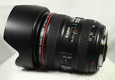 Canon EF 24-70mm f/4 L IS USM Lens With Extras