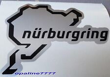 STICKER NURBURGRING CIRCUIT AUTO MOTO TUNING CASQUE SCOOTER QUAD VELO