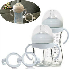 2Pcs Bottle Grip Handle for Avent Natural Wide Mouth PP Glass Feeding Bottles