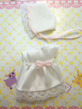 Kelly Krissy Friends Baby Clothes *Krissy's White Christening Gown Dress & Hat*