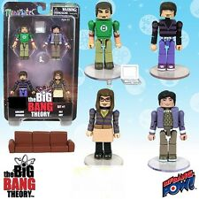 The Big Bang Theory Minimates Set 1 Bif Bang Pow!