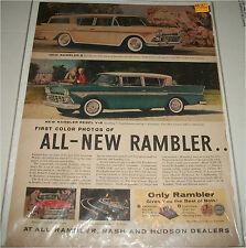1958 AMC Rambler Ambassador Lineup car ad