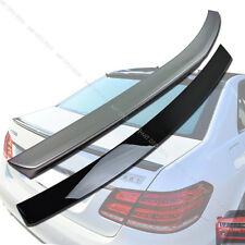 Painted Mercedes Benz W212 Sedan OE Roof Spoiler + A Trunk Spoiler E350