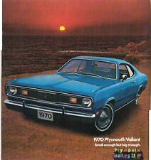 1970 PLYMOUTH VALIANT US Brochure DUSTER & DUSTER 340 Like CHRYSLER VE VALIANT