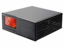 SilverStone CW03B-MT Aluminum ATX Media Center/HTPC Case (Black)