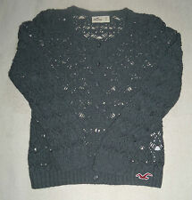 Hollister Women's Knit / Lace Effect Cardigan - Size Small - New - Rabbit Hair