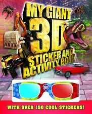 Giant 3D Sticker and Activity Book by Igloo Books Ltd (Paperback, 2012)