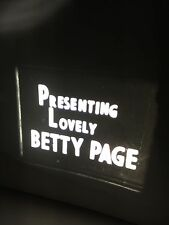 RARE! PRESENTING LOVELY BETTIE PAGE 50's RISQUE BURLESQUE DANCING STAG 8MM FILM